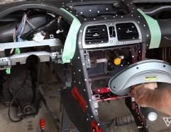 Balonbay 3D Laser Scanning for Greater Toronto Area Subaru Impreza Dashboard