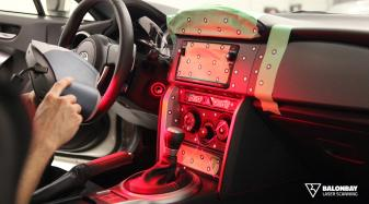 Balonbay 3D Laser Scanning Scion FR-S Dashboard Interior