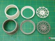 Balonbay 3D Printing 1:5 Scale 3-piece wheels